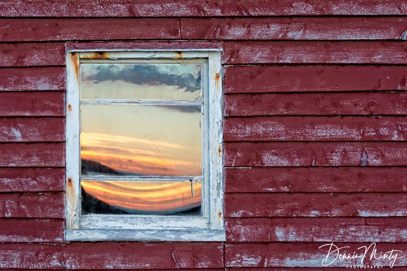Sunset Reflection, Change Islands, Newfoundland